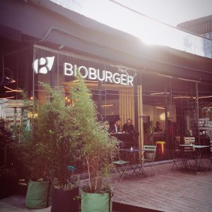 Bioburger Paris la Défense - Façade extérieure