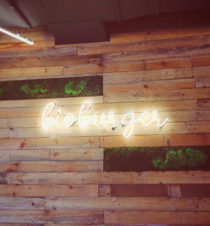 Bioburger Paris la Défense - Mur Intérieur