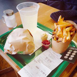 Bioburger Paris la Défense - Menu Avocado