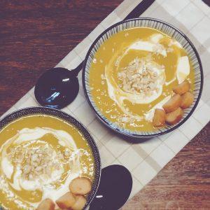 Soupe poireau, carotte, pomme de terre