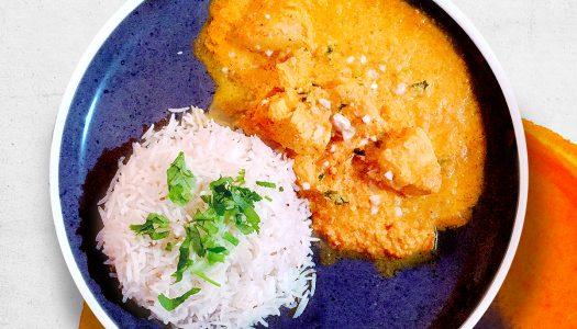 Poulet Shahi Korma au lait de coco