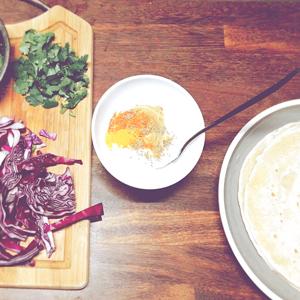 Étape 3 : Faire la sauce au yaourt