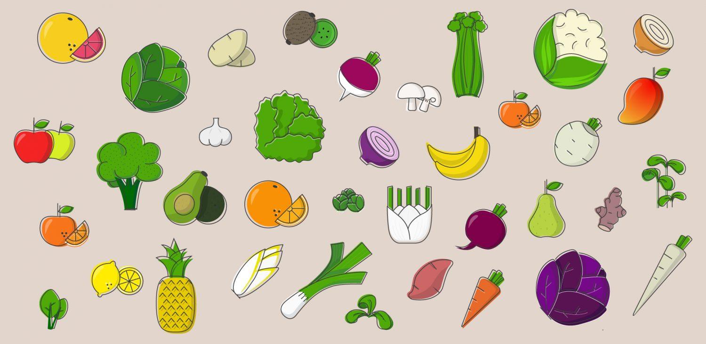 Fruits et Légumes du mois de Février !