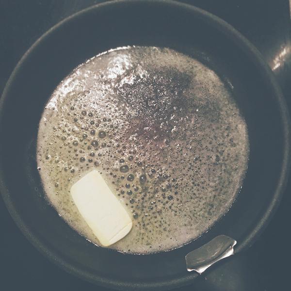 Étape 6 : Faire le beurre noisette