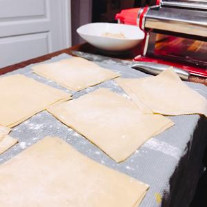 Pâtes à lasagnes maison